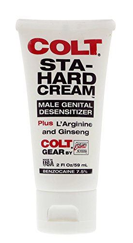 California Exotic Novelties Colt Sta-hard Cream, 2-Ounce