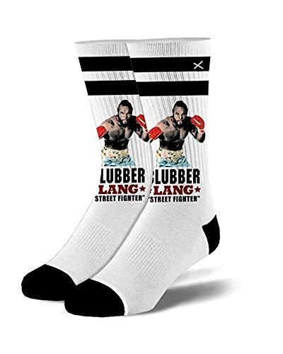 (Odd Sox - Men's - Rocky - Clubber Lang Varsity Socks)