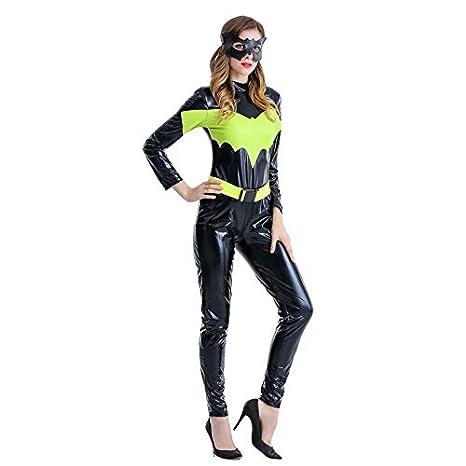 Disfraz de Capitán América GJBXP Disfraz de Halloween para mujer ...