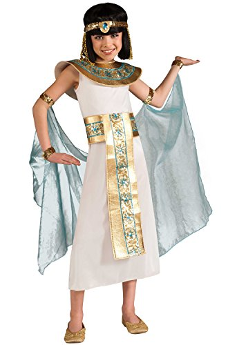 Egyptian Costumes Boy (Cleopatra Costume, Blue, Medium)