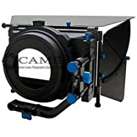 Came-TV LM2 Professional DSLR Matte Box for 15mm Rods