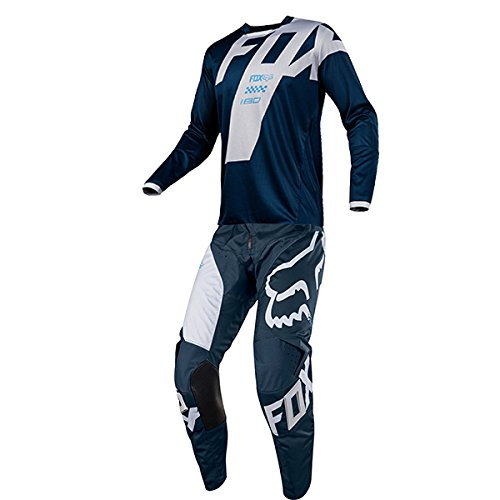 Series Race Pants (Fox Racing 180 Mastar Navy Jersey/ Pant Combo - Size LARGE/ 34W)
