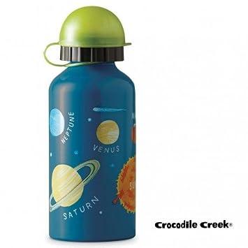 Botella de acero inoxidable azul system solar infantil ...