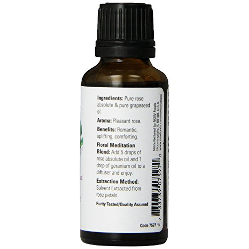 NOW Solutions Rose Absolute Oil, 1-Ounce