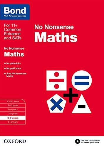 FREE Bond: Maths: No Nonsense KINDLE