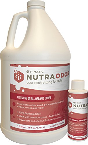 F-Matic Nutra Odor - Odor Neutralizing Formul, 4 oz Bottle by F-Matic