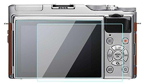 WH1916 Glass Screen Protector Foils Compatible for Fujifilm X-A5 X-A3 X-A10, Tempered Glass Film Anti-Bubble Anti-Scratch Anti-Finger for fujilfim xa5 xa3 xa10 DSLR Camera (2 Pack)