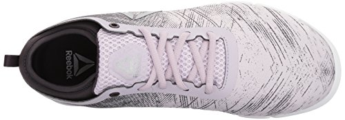 Volcano Reebok Her Women's Speed Smoky Sneaker Silver TR Quartz White OZHqxOCw