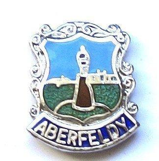 Aberfeldy-Gifts Épinglette émaillée