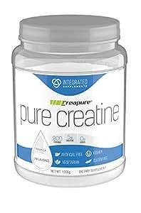 Integrated Supplements 100% Creapure Creatine 200 servings 1000 grams
