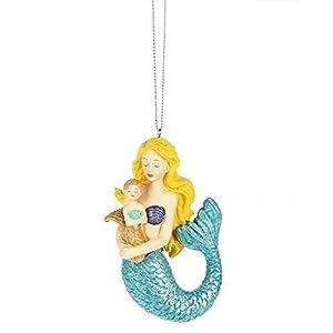 41VVgvB3ArL._SS300_ 100+ Mermaid Christmas Ornaments