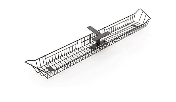 smart2ergo Universal bandeja de cable | incluye accesorios y accesorios | blanco o negro | salud y seguridad - mantener las zonas bajo el escritorio alambre ...