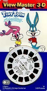 Tiny Toon Adventures - ViewMaster 3 Reel Set