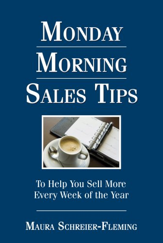 This book is jam-packed with inspirational quotes and sales tips that will help your team sell more every week of the year. Monday Morning Sales Tips will help you win. It is filled with ideas that will help make you more successful. We all face time...