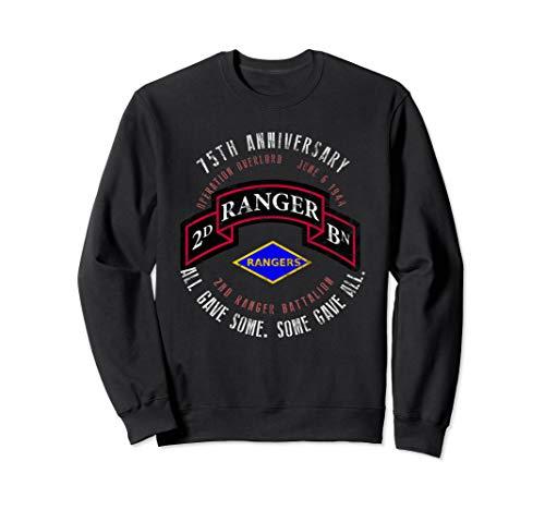 (D-Day 75th Anniversary 2nd Ranger Bn. WWII Vintage Tee Sweatshirt)