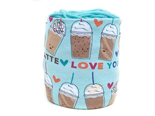 (Latte Coffee Skein Coat Yarn Organizer)