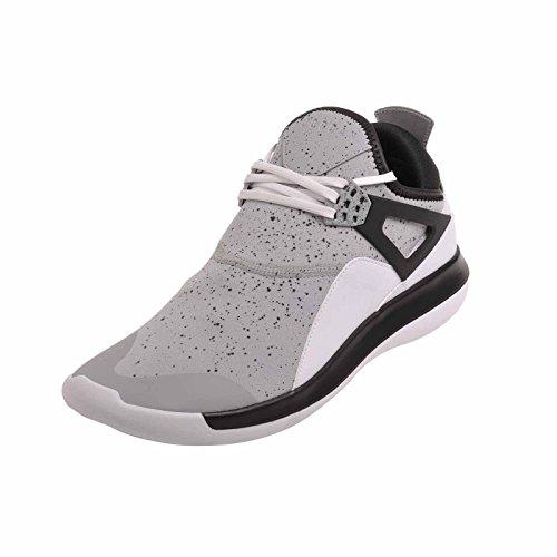 NIKE Jordan Fly '89 Herren Fashion Sneakers Wolf Grau / Weiß / Schwarz