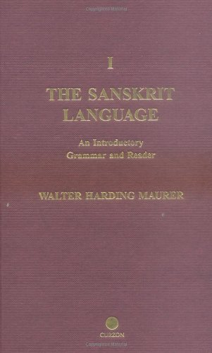 The Sanskrit Language: An Introductory Grammar and Reader. Revised Edition (2 Vol. Set)