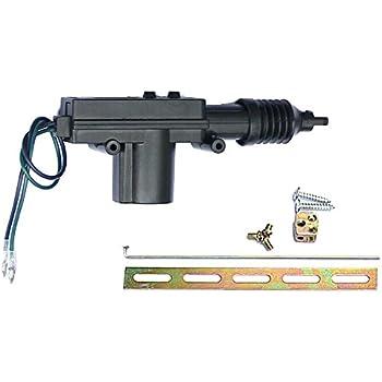 etopars black car plastic universal heavy duty power door lock actuator 2  wire 12v