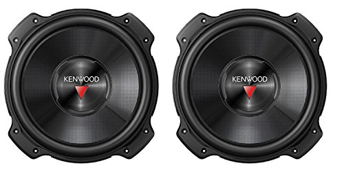 Kenwood KFC-W2516PS 10-Inch 2600W Subwoofer (Pair)