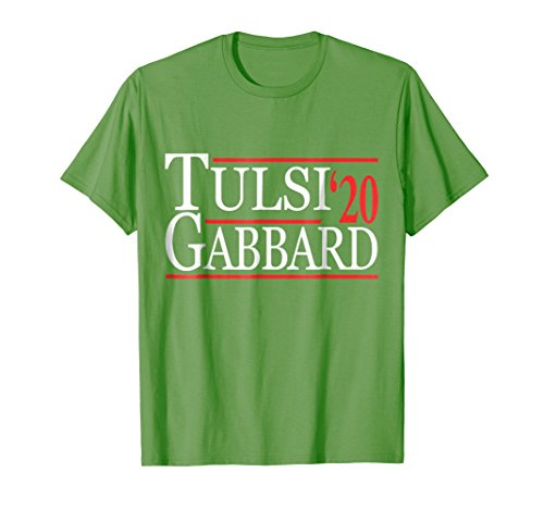 Mens Tulsi Gabbard 2020 T-Shirt Medium Grass