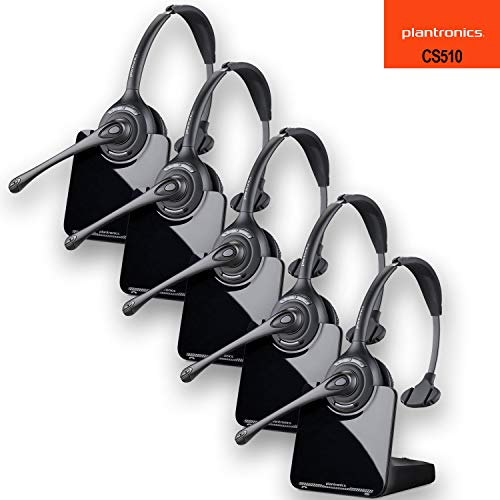 System 510 (Plantronics CS510 Wireless Headset System - 5 Pack)