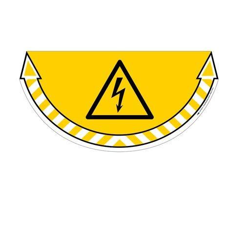 Cep 1701050051 - Cartel adhesivo peligro eléctrico: Amazon ...