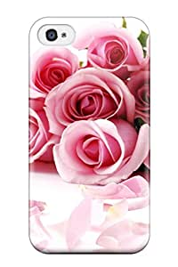 Lennie P. Dallas's Shop Protection Case For Iphone 4/4s / Case Cover For Iphone(awesome Roses)