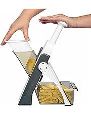 FOLENZU Kök hackning artefakt grönsaker fruktskivare mat handhackare lök skärare multifunktionell skivare hackare för frukt/potatis/lök/fransk fritös/ost