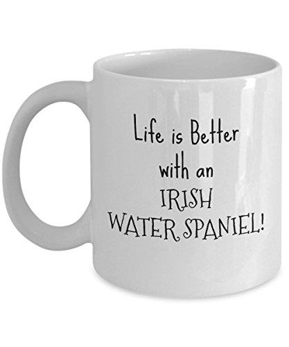 Irish Water Spaniel Puppy Dog Owner Gift 11 or 15 oz Coffee Tea ()
