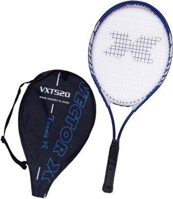 Vector X Vxt 520 26 inches 3# Strung Tennis Racquet  Blue, White