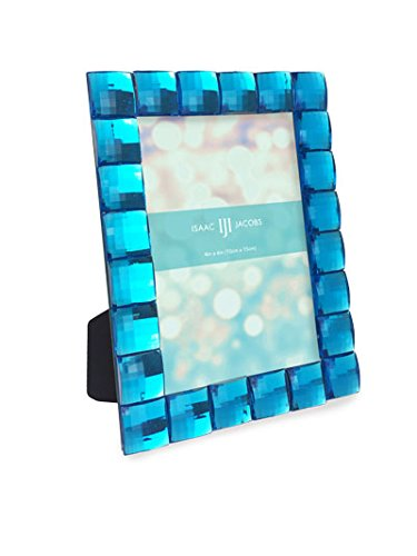 Isaac Jacobs International Jewel Picture Frame (4x6, - Frame Isaac