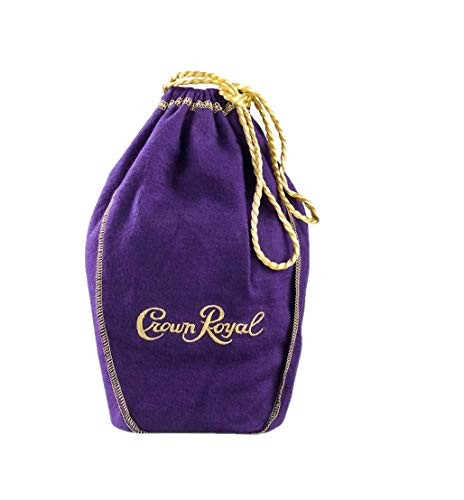 Crown Royal Extra Large Bag with Gold Drawstrings Great for Storage 13