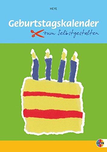 Geburtstagskalender zum Selbstgestalten klein