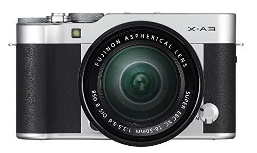 Fujifilm X-A3 Mirrorless Camera XC16-50mm F3.5-5.6 II Lens Kit - Silver (Certified Refurbished)