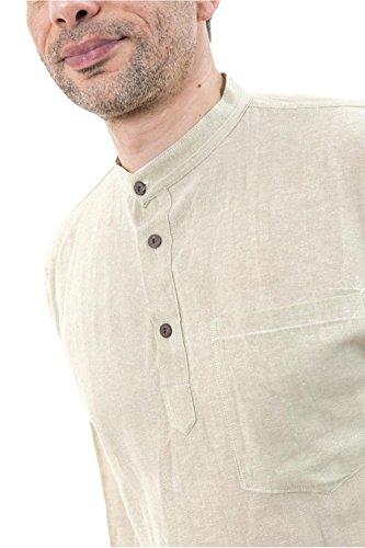 - Chemise coton nepalais 3 boutons 1 poche - XXL - ( 44-46 )
