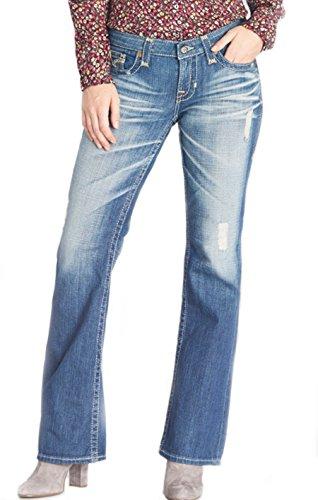 Big Star Vintage 14 Year Crimson Liv Bootcut Jean Size 26 33(L) (Star Big Bootcut Jeans)