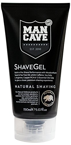Mancave Caffeine Shave Gel, 5.9 Ounce by ManCave