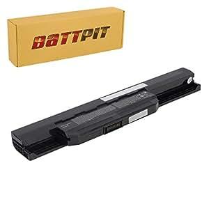 Battpit Recambio de Bateria para Ordenador Portátil Asus K53S (4400mah / 48wh)