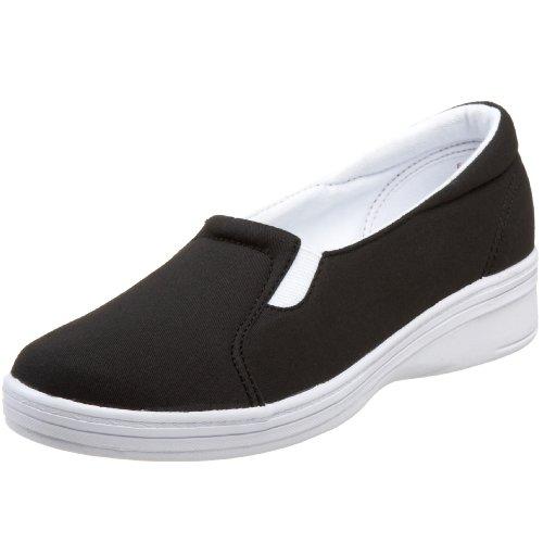 Grasshoppers Women's Jensen Stretch Twill Slip-On Sneaker...