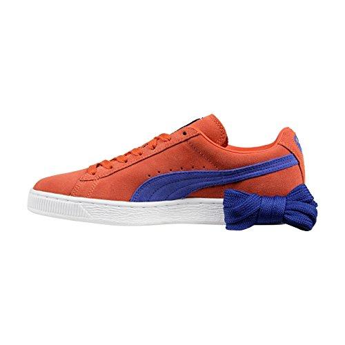 Oransje top Lav Sneakers Suede Klassisk Kvinner Puma Vermillion qwaPz0nI