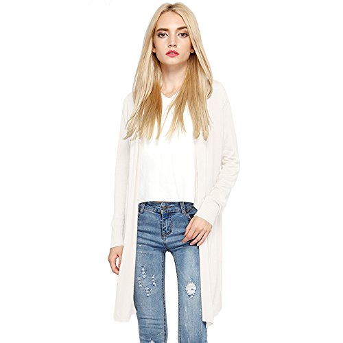 HARBETH Women's fashion soft Open Front  - Cotton Long Cardigan Shopping Results