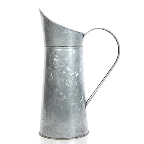 Hosley Galvanized Pitcher - 14