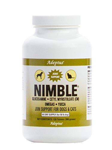 Adeptus Nutrition 120 Tablets Nimble Pet Food  4 5 X 4 5 X 6