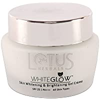 Lotus Herbals Whiteglow Skin Whitening And Brightening Gel Cream SPF-25, 40g