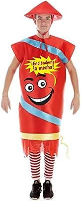 Disfraz de Petardo Chino para Adultos: Amazon.es: Juguetes y juegos