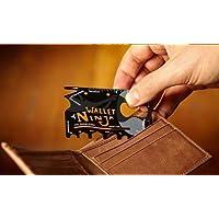 Cartçao Wallet Ninja 18 Ferramentas em 1 Tipo Cartão De Crédito Guarde Na carteira