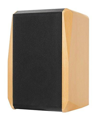 Dynavox TG-1000B Hifi plank luidspreker 50 W (paar) beuken