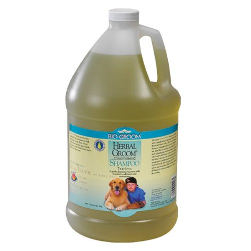 Bio-Groom Herbal Groom Puppies and Kittens Conditioning Shampoo, 1-Gallon, My Pet Supplies