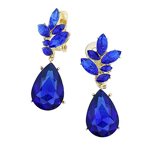 [Rosemarie Collections Women's Statement Clip on Earrings
